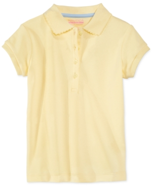 Nautica School Uniform Polo Big Girls (716)