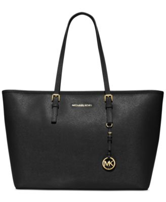 MICHAEL Michael Kors Jet Set Travel Medium Top Zip Multifunction Tote