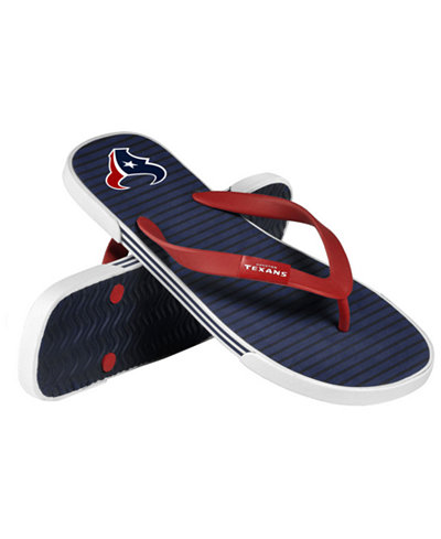 Forever Collectibles Houston Texans Thong Sandals
