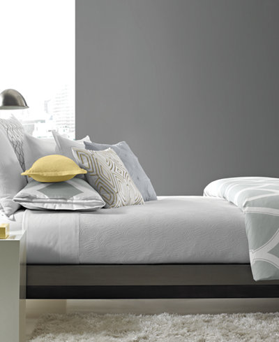 CLOSEOUT! Hotel Collection Lancet Twin Coverlet