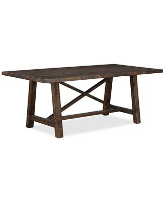 ember dining table, created for macy's - furniture - macy's