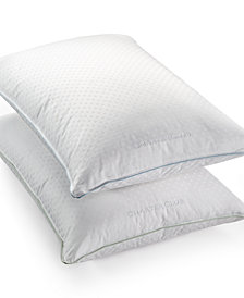 Charter Club 50% European Feather & 50% European Down Soft Density Standard/Queen Pillow, Hypoallergenic UltraClean Down, Created for Macy's