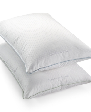 Charter Club 50 European Feather  50 European Down Soft Density King Pillow Hypoallergenic UltraClean Down Created for Macys Bedding