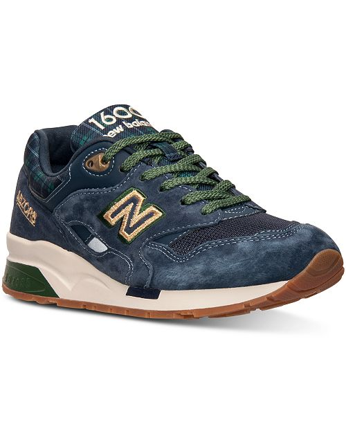New Balance Women's 1600 Tartan Casual Sneakers from Finish Line