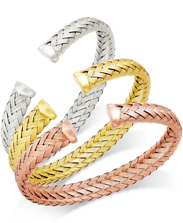 Macy's - Woven Cuff Bracelets