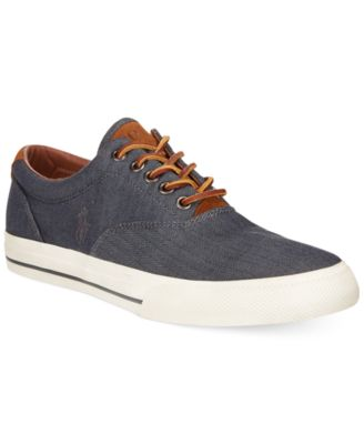4e2f709da4 Vaughn Chambray Herringbone Sneakers