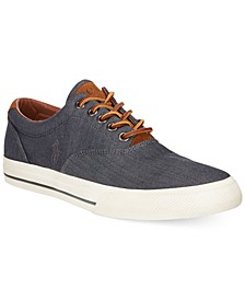 Vaughn Chambray Herringbone Sneakers