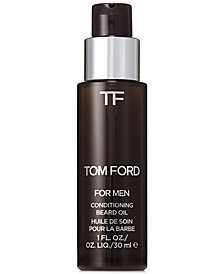 Tom Ford Men's Oud Wood Conditioning Beard Oil, 1 oz
