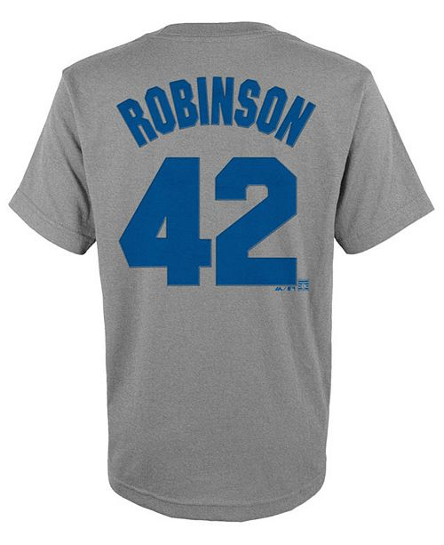 ... Majestic Jackie Robinson Brooklyn Dodgers Player T-Shirt c510d52e129