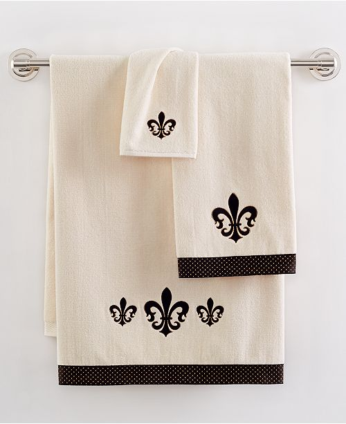 Avanti Fleur De Lis Bath Collection Bathroom Accessories Bed