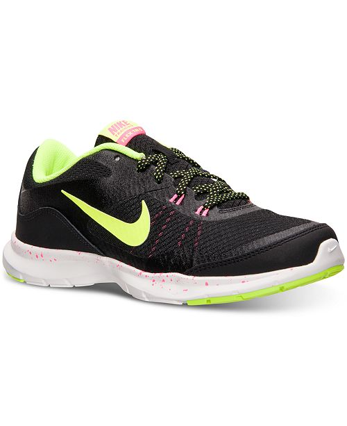 69a4f5a8aac51 Nike Women s Flex Trainer 5 Training Sneakers from Finish Line ...