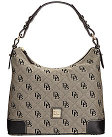 Dooney & Bourke Americana Signature Erica Hobo, Created for Macy's