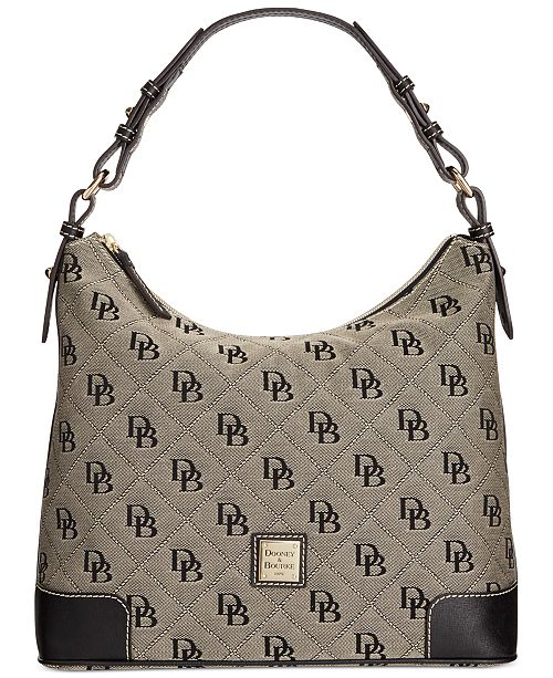 2f20c82bf516 ... Dooney   Bourke Signature Erica Hobo