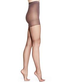 Women's   Silk Reflections High Waist Tummy Control Top Silky Pantyhose Sheers 0B184