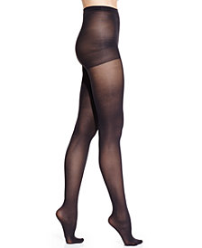 HUE® Women's  Essential Solutions Opaque Tights with Control Top