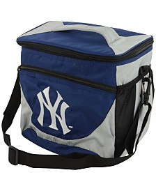 Logo Chair New York Yankees 24-Can Cooler