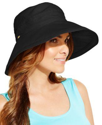 445c12f1 Scala Cotton Big Brim Sun Hat & Reviews - Women - Macy's