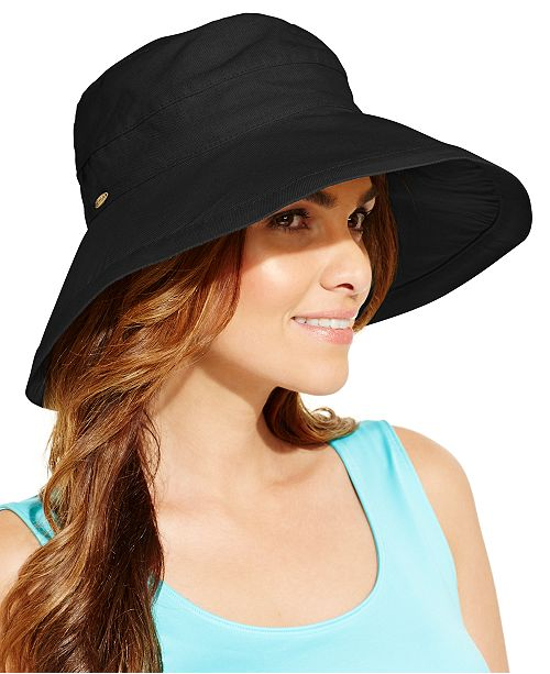 Scala Cotton Big Brim Sun Hat - Handbags   Accessories - Macy s d649c538850b