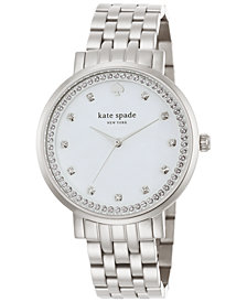 kate spade new york Women's Monterey Stainless Steel Bracelet Watch 38mm 1YRU0820
