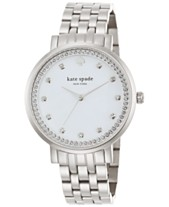 34c320ce2fc kate spade new york Women s Monterey Stainless Steel Bracelet Watch 38mm  1YRU0820