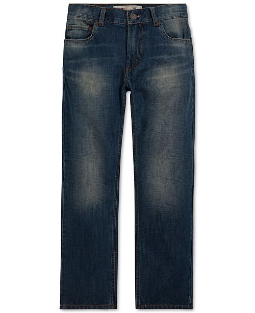 0631a1410 Levi's 505™ Regular Fit Jeans, Big Boys & Reviews - Jeans - Kids ...