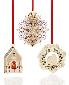 Annual Christmas Ornaments Collection