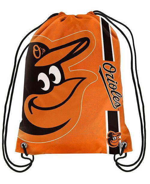 Forever Collectibles Baltimore Orioles Big Logo Drawstring Bag
