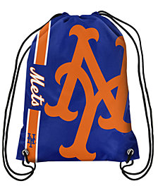 Forever Collectibles New York Mets Big Logo Drawstring Bag