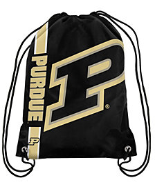Forever Collectibles Purdue Boilermakers Big Logo Drawstring Bag