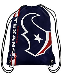 Forever Collectibles Houston Texans Big Logo Drawstring Bag