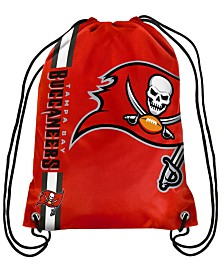 Forever Collectibles Tampa Bay Buccaneers Big Logo Drawstring Bag