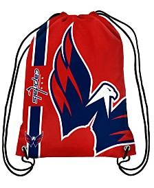 Forever Collectibles Washington Capitals Big Logo Drawstring Bag
