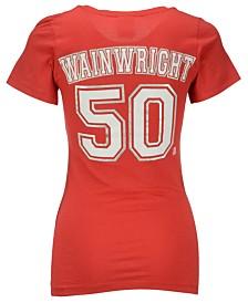 5th & Ocean Women's Adam Wainwright St. Louis Cardinals Player T-Shirt