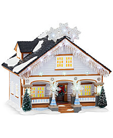 Department 56 Snow Village The Snowflake House