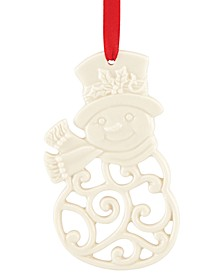 Snowman Charm Ornament, Created for Macy's