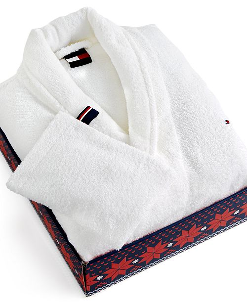 hot-selling many choices of official price Tommy Hilfiger CLOSEOUT! Classic Robe & Reviews - Bath Robes ...