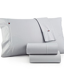 Tommy Hilfiger Solid Core Twin Sheet Set