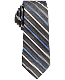 Calvin Klein Big Boys Gemstone Striped Necktie