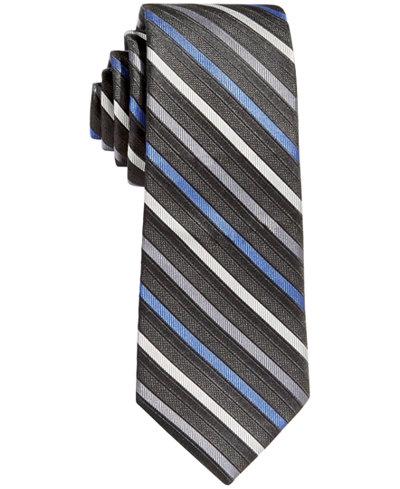 Calvin Klein Gemstone Stripe Tie, Big Boys