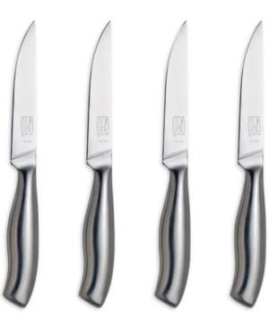 insignia steel steak knife set