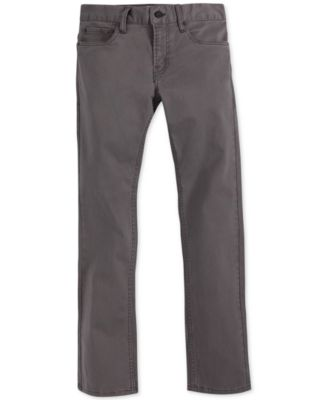 Image of Levi's® 511™ Slim Fit Sueded Pants, Little Boys