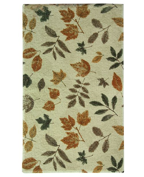Bacova Rugs, Elegant Dimensions Fossil Leaf Accent Rugs