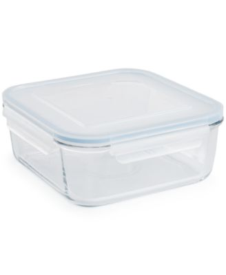 Martha Stewart Collection 11 Cup Glass Food Storage Container, Created For  Macyu0027s