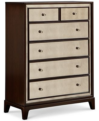 Gotham Bedroom 6 Drawer Chest Furniture Macy s