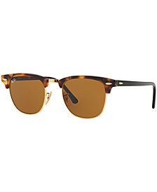 Ray-Ban CLUBMASTER Sunglasses, RB3016 49