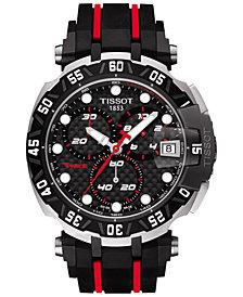 Tissot Men's Swiss Chronograph T-Race MotoGP Limited Edition 2015 Black Rubber Strap Watch 45mm T0924172720100