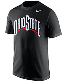 Nike Men's Ohio State Buckeyes Wordmark T-Shirt
