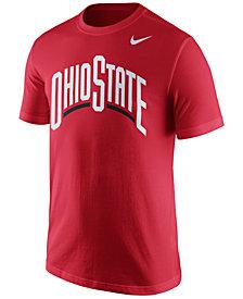 Nike Men's Ohio State Buckeyes Wordmark T-
