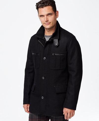 Cole Haan Melton Jacket Coats Amp Jackets Men Macy S