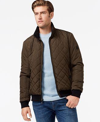Calvin Klein Men's Quilted Jacket - Coats & Jackets - Men - Macy's